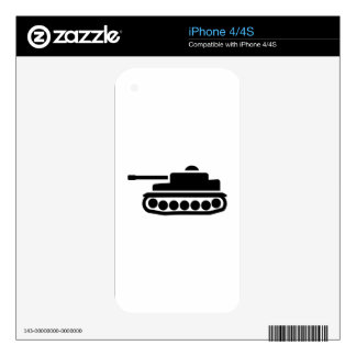 Military tank skin for iPhone 4S