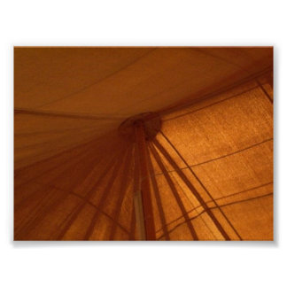 Military Tent In Kuwait Poster