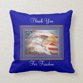 Military Thank You American MoJo Pillows