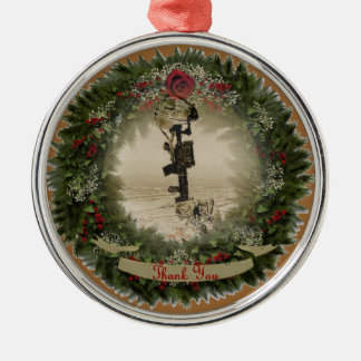 military thank you christmas tree ornaments