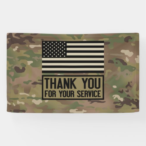 Military _ Thank You For Your Service Banner