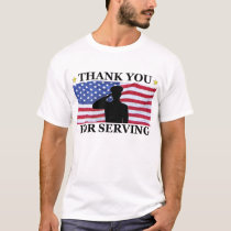 Military Thank You T-shirt