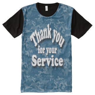 Military thanks All-Over-Print T-Shirt