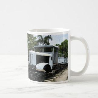 Military Train at the River Kwai Bridge ... WW2 Coffee Mug