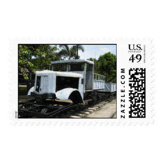 Military Train at the River Kwai Bridge ... WW2 Postage