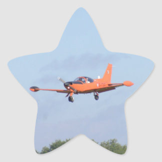 Military Trainer Star Sticker