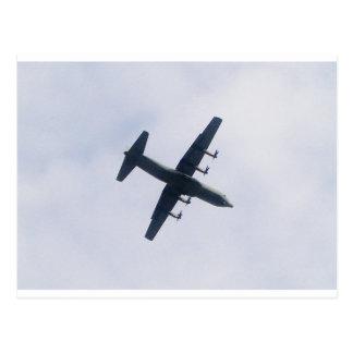 Military Transport Aircraft Postcard
