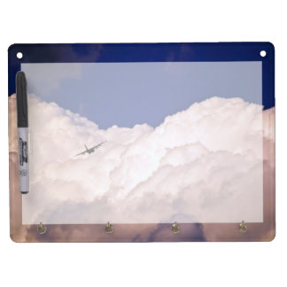 Military Transport Airplane by Shirley Taylor Dry Erase Board With Keychain Holder