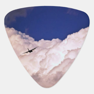 Military Transport Airplane by Shirley Taylor Guitar Pick