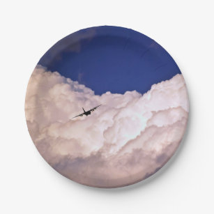 Military Transport Airplane by Shirley Taylor Paper Plate & Plane Plates | Zazzle