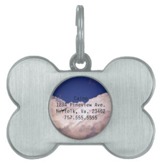 Military Transport Airplane by Shirley Taylor Pet Name Tag