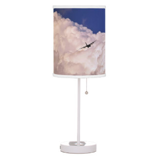 Military Transport Airplane by Shirley Taylor Table Lamp