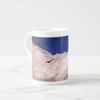 Military Transport Airplane by Shirley Taylor Tea Cup