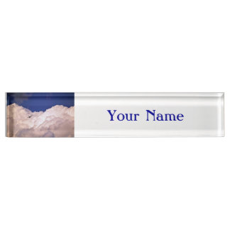Military Transport Airplane Desk Nameplates