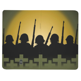Military Tribute Notebook Lest We Forget Books Journal