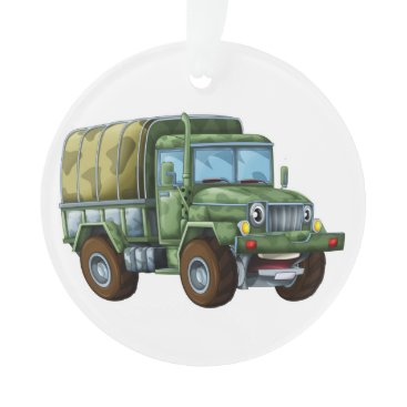 Military Truck - Appreciation Ornament