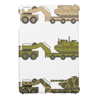 Military Truck pulling tank Cover For The iPad Mini