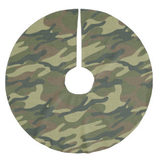 Military Uniform Brushed Polyester Tree Skirt