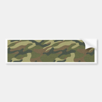 Military Uniform Bumper Sticker