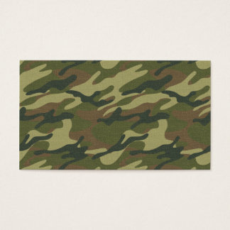 Military Uniform Business Card
