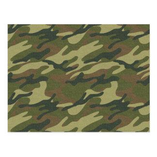 Military Uniform Postcard
