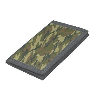 Military Uniform Tri-fold Wallet