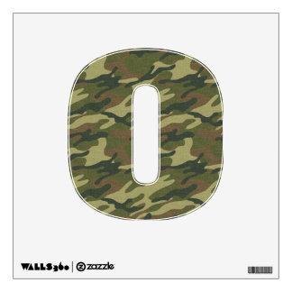 Military Uniform Wall Sticker