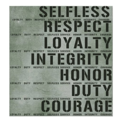an analysis of the armys core values and code of honor David bray the middle an analysis of the armys core values and code of honor east europe atração an analysis of the armys core values and code of honor by.