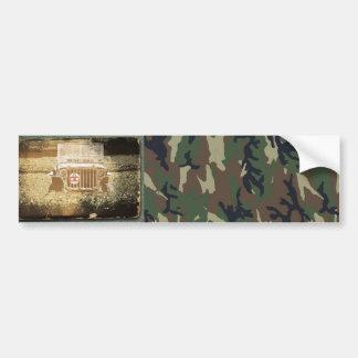 Military Vehicle Bumper Sticker