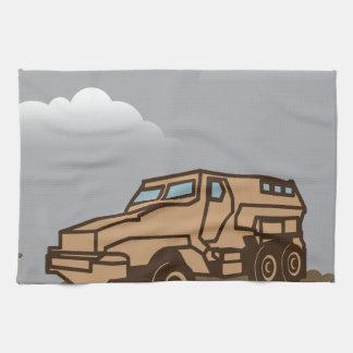 Military Vehicle Kitchen Towel