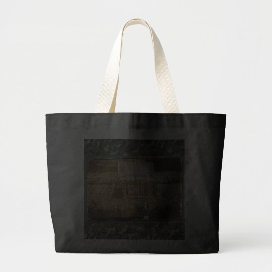 Military Vehicle Large Tote Bag