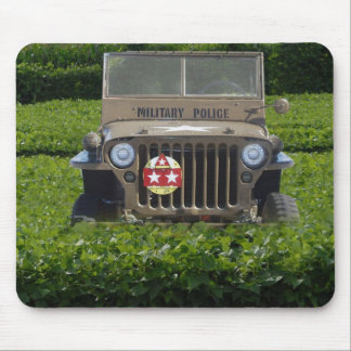 Military Vehicle Mouse Pad