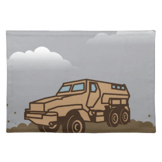 Military Vehicle Placemat