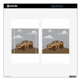 Military Vehicle Skin For Kindle Fire
