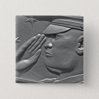 Military Veteran Hero Honor Button