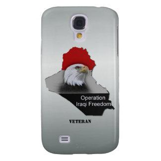 Military Veteran Operation Iraqi Freedom Customize Samsung Galaxy S4 Covers