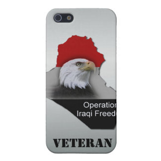 Military Veteran Operation Iraqi Freedom iPhone SE/5/5s Cover