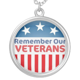 military veteran pendant necklace