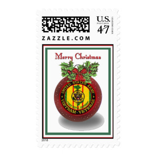 Military Vietnam Veteran Christmas Postage Stamps at Zazzle