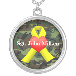 Military War Veteran Necklace