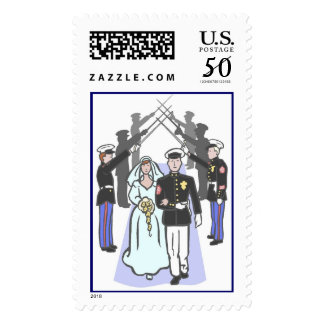 Military Wedding (1a) Postage