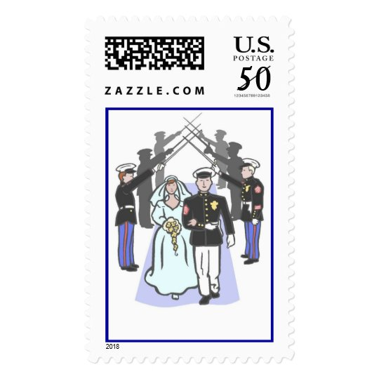 Military Wedding (1b) [CUSTOMIZE] Postage