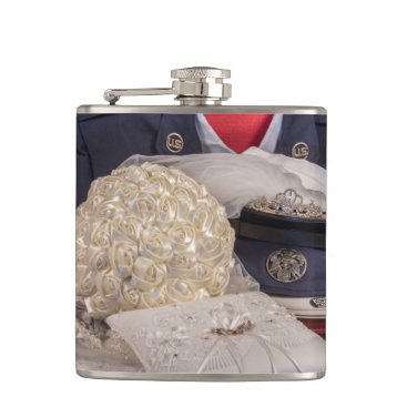 Military Wedding Flask
