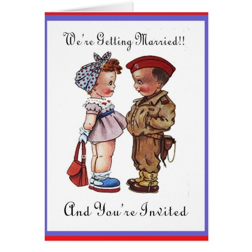 Patriotic Wedding Invitations was luxury invitation design