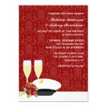 "Military Wedding Invitations 5"" X 7"" Invitation Card"