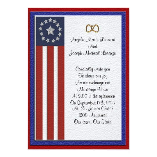 Military Wedding Invitations Formal