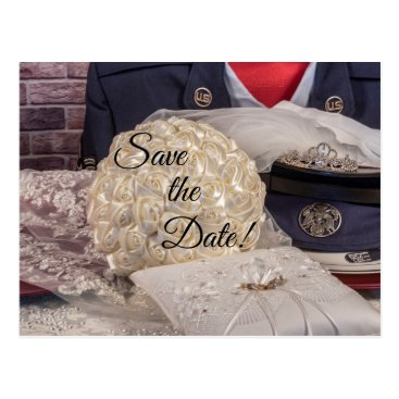 Military Wedding Postcard