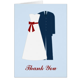 Military Wedding Thank You Notes