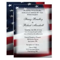 Military Wedding Theme Wedding Invitations 5