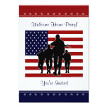 Military Welcome Home Party Personalized Invite